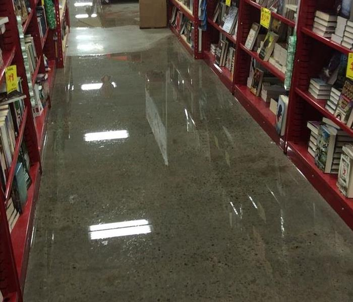 Water in a store